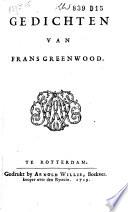 Gedichten van Frans Greenwood