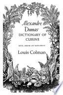 illustration Alexander Dumas Dictionary Of Cuisine