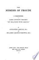 The Nemesis of Froude Book PDF