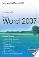 Microsoft® Word 2007