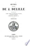 Œuvres complètes de J. Delille