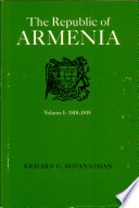 Ebook The Republic of Armenia: The first year, 1918-1919 Epub Richard G. Hovannisian Apps Read Mobile