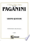Grand Quartour Composed By Niccolo Paganini