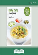 Easy Thai Cookbook