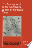 The Management of the Menopause   Post Menopausal Years