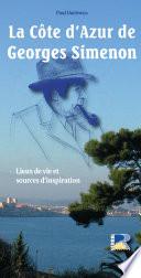 La Côte d'Azur de Georges Simenon