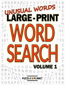 Unusual Words Large Print Word Search