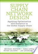 Supply Chain Network Design