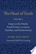The Heart of Torah  Volume 2