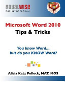 Microsoft Word 2010 Tips & Tricks
