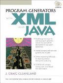 Program Generators With Xml And Java