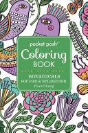 Pocket Posh Adult Coloring Book