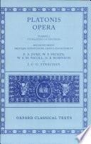 Platonis Opera