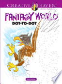 Creative Haven Fantasy World Dot to Dot