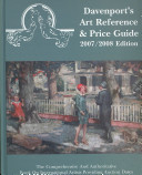 Davenport s Art Reference and Price Guide 2007 2008 Edition