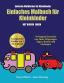 Einfache Malbücher für Kleinkinder