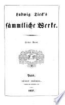 Ludwig Tieck s s  mtliche Werke