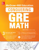 McGraw Hill Education Conquering GRE Math  Third Edition