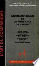 Giordano Bruno et la puissance de l'infini