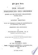 Der Staat Friedrichs des Grossen