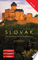 Colloquial Slovak  eBook And MP3 Pack