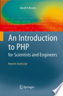 illustration An Introduction to PHP for Scientists and Engineers