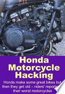 Honda Motorcycle Hacking