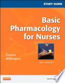 Study Guide For Basic Pharmacology For Nurses E Book