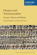 Diaspora and Transnationalism  Political Discourses Although Originally Referring To