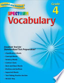 Vocabulary  Grade 4