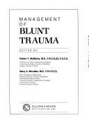 Management Of Blunt Trauma