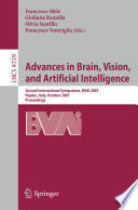 Advances In Brain Vision And Artificial Intelligence