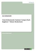 Unterrichtsstunde: Summer Camps