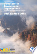 Directory of Geoscience Departments 2015