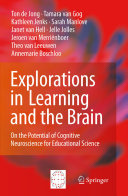 """""""Explorations in Learning and the Brain"""" Cover"""