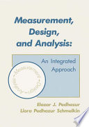 Measurement  Design  and Analysis