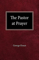 The Pastor at Prayer