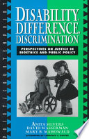 Disability, Difference, Discrimination