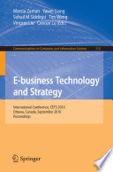E business Technology and Strategy