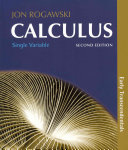 Calculus  Early Transcendentals  Single Variable Calculus