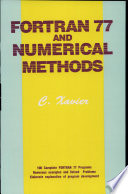 Fortran 77 and Numerical Methods
