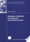 Strategies in Markets for Experience and Credence Goods Book PDF