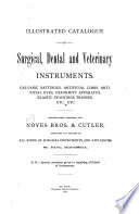 Illustrated Catalogue of Surgical  Dental and Veterinary Instruments