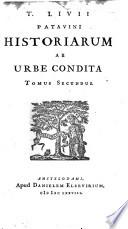 Titi Livii Historiarum quod extat, cum perpretuis Car. Signonii et J.F. Gronovii notis. Jac. Gronovius probavit suasque et aliorum notas adjecit, 2