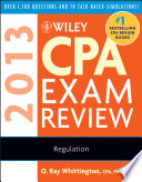 Wiley CPA Exam Review 2013  Regulation