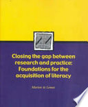 Closing the Gap Between Research and Practice