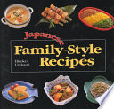 Japanese Family style Recipes