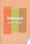 Turkey Meat  Carcasses and Parts