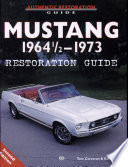 Mustang 1964 1 2 1973 Restoration Guide