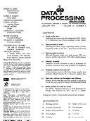 Data Processing Magazine